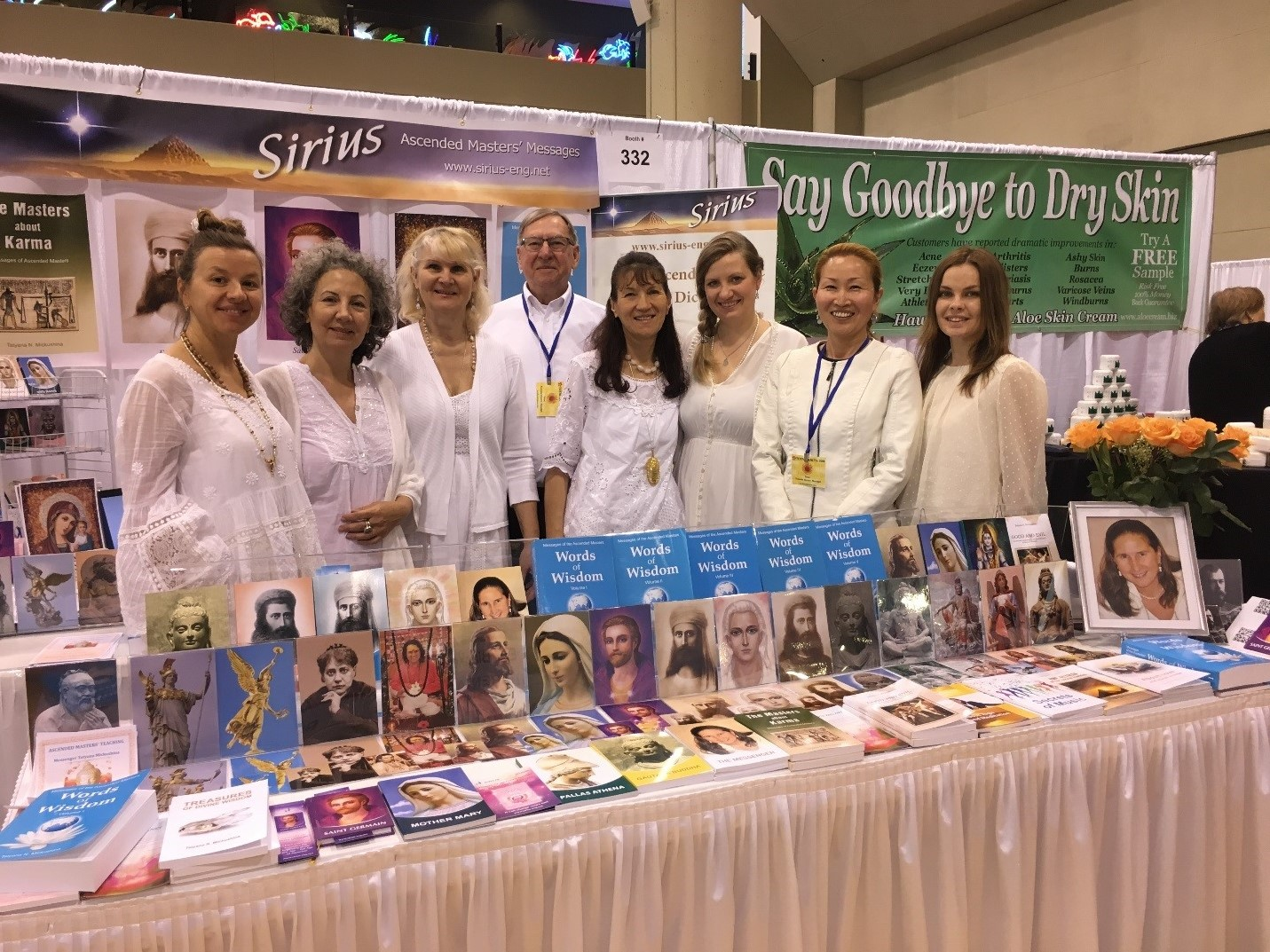 The books of Tatyana N. Mickushina have been presented at New Living Expo, April 27-29, 2018