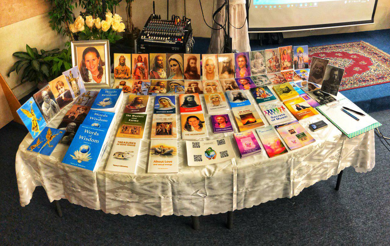 Books by Tatyana N. Mickushina have been represented in East West Bookshop Mountain View, CA on August 27, 2018