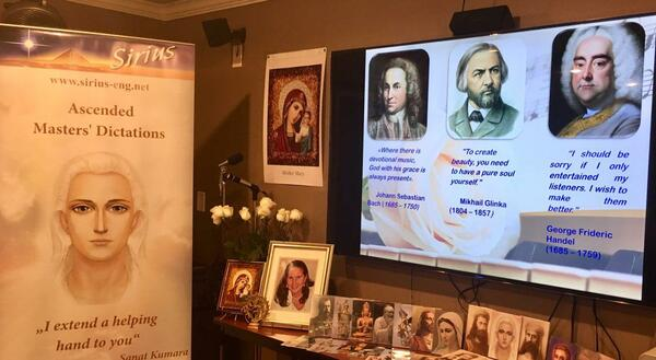 The books of Tatyana N. Mickushina have been presented on December 8, 2018 at the special event in USA! Mystic Journey Bookstore,Los Angeles, California