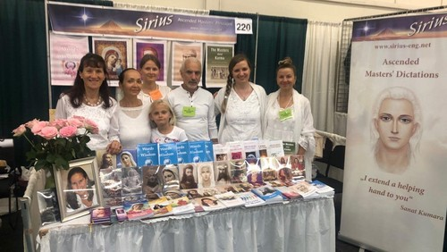 The books by Tatyana Mickushina have been presented  at San Mateo County Event Center in San Mateo, CA at New Living Expo, on April 26-28, 2019
