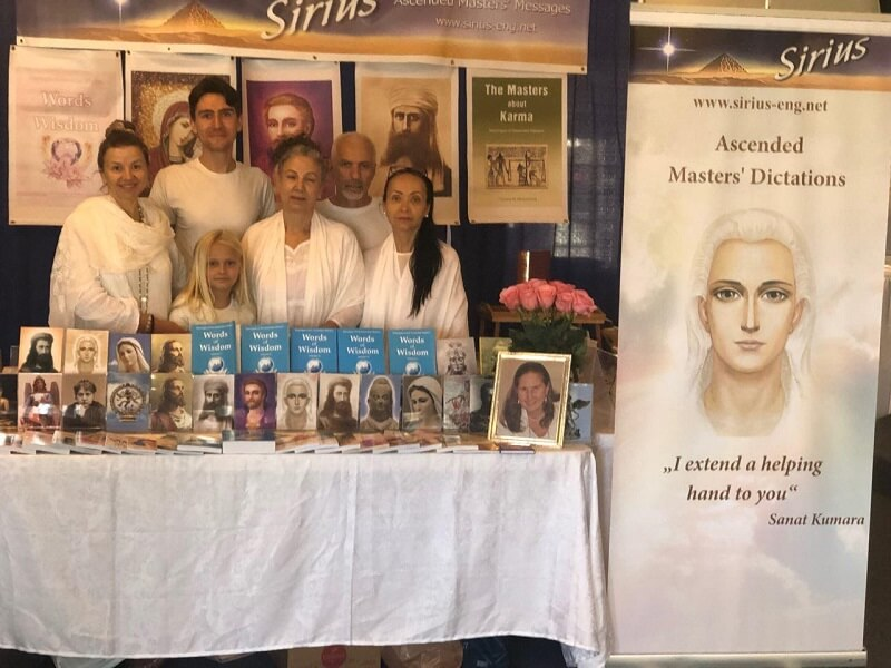 The books by Tatyana N. Mickushina were presented at the New Earth Еxpo in Huntington Beach, California on May 25, 2019