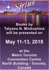 Books by Tatyana N. Mickushina will be presented on May 11-13, 2018 at the Metro Toronto Convention Centre, North Building - Toronto, Canada
